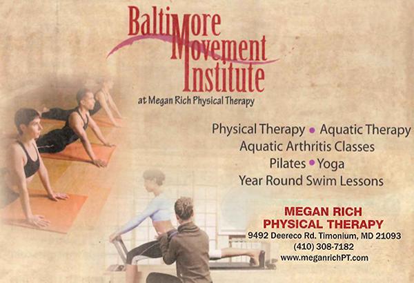 Survivorship Institute Maryland Exercise Facilities Megan Rich PT